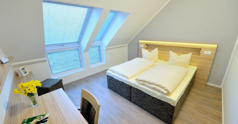 Komfortdoppelzimmer ideal f�r 2 Personen