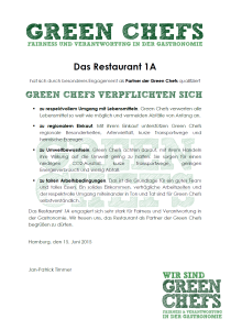 Green Chefs 2